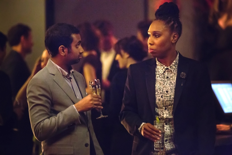 "Aziz Ansari and Lena Waithe, ""Master"