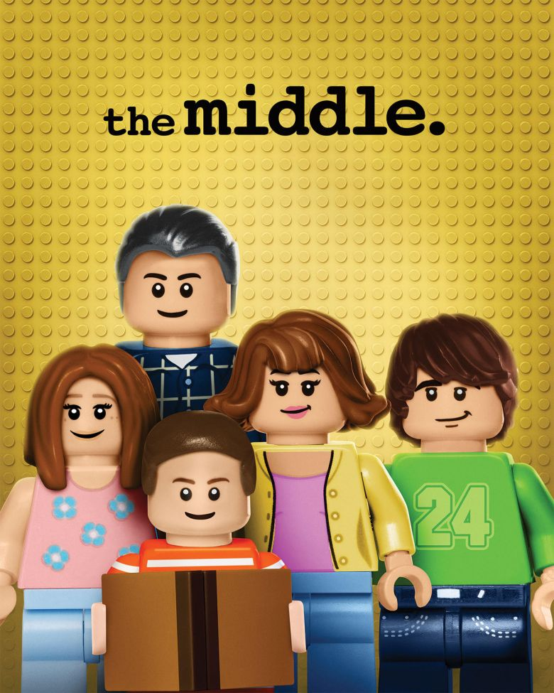 "LEGO ""The Middle"" billboard"