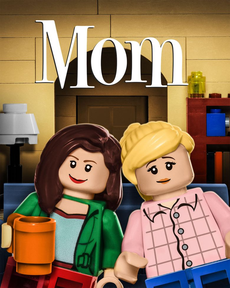 "LEGO ""Mom"" billboard"