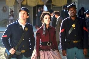 """Matt Lanter, Abigail Spencer and Malcolm Barrett on """"Timeless"""""""