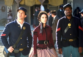 "Matt Lanter, Abigail Spencer and Malcolm Barrett on ""Timeless"""