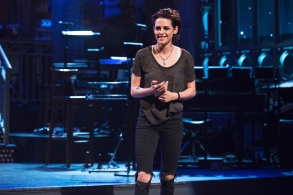 "SATURDAY NIGHT LIVE -- ""Kristen Stewart"" Episode 1717 -- Pictured: Host Kristen Stewart on January 31, 2017 -- (Photo by: Rosalind O'Connor/NBC)"