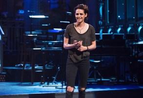 """SATURDAY NIGHT LIVE -- """"Kristen Stewart"""" Episode 1717 -- Pictured: Host Kristen Stewart on January 31, 2017 -- (Photo by: Rosalind O'Connor/NBC)"""