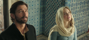 "Michiel Huisman and Hera Hilmar in ""The Ottoman Lieutenant"""