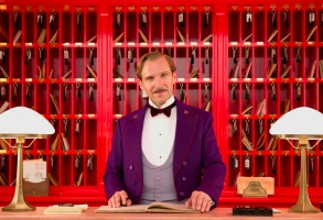 Ralph Fiennes Grand Budapest Hotel