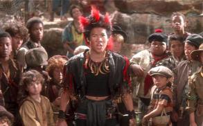 Dante Basco as Rufio in the film Hook
