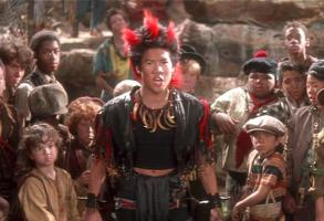 Dante Basco as Rufio in the film Hook