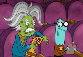 "J.K. Simmons lends his voice to Maestro Mackerel in ""SpongeBob SquarePants"""