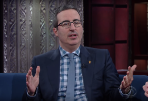 John Oliver on The Late Show with Stephen Colbert