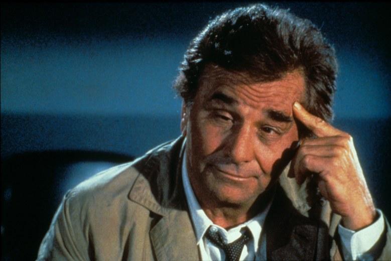 "Peter Falk, ""Columbo"""