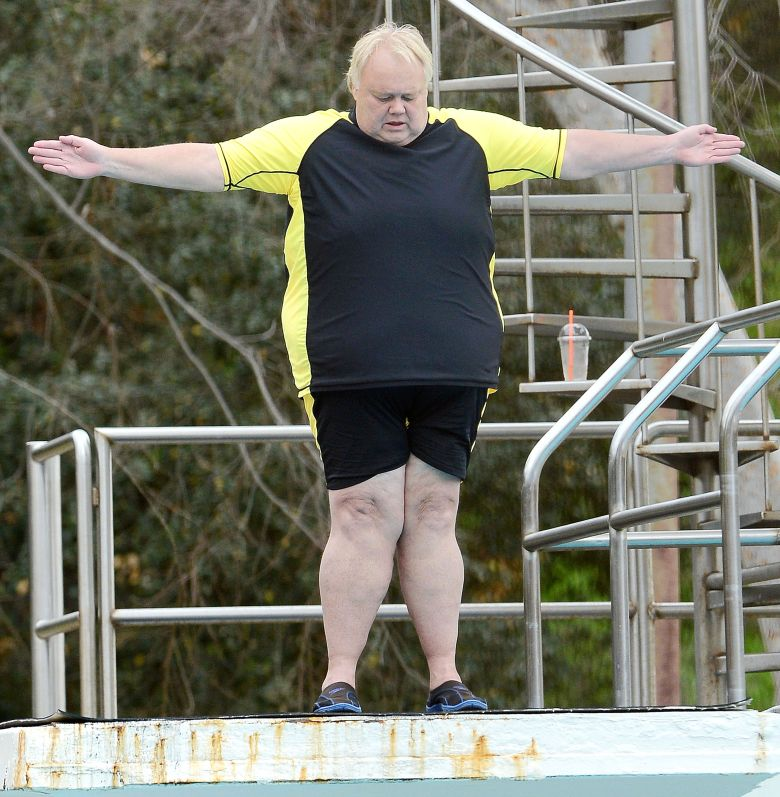 "Louie Anderson, ""Splash"""
