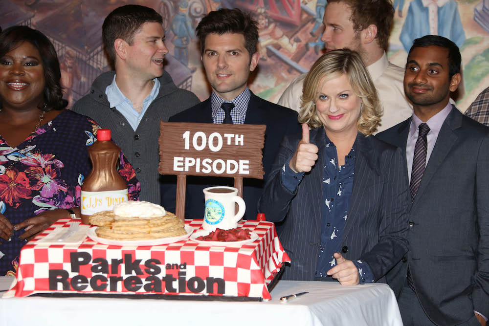 Amy Poehler 'Parks And Recreation' 100th Episode Party, Los Angeles, America - 16 Oct 2013