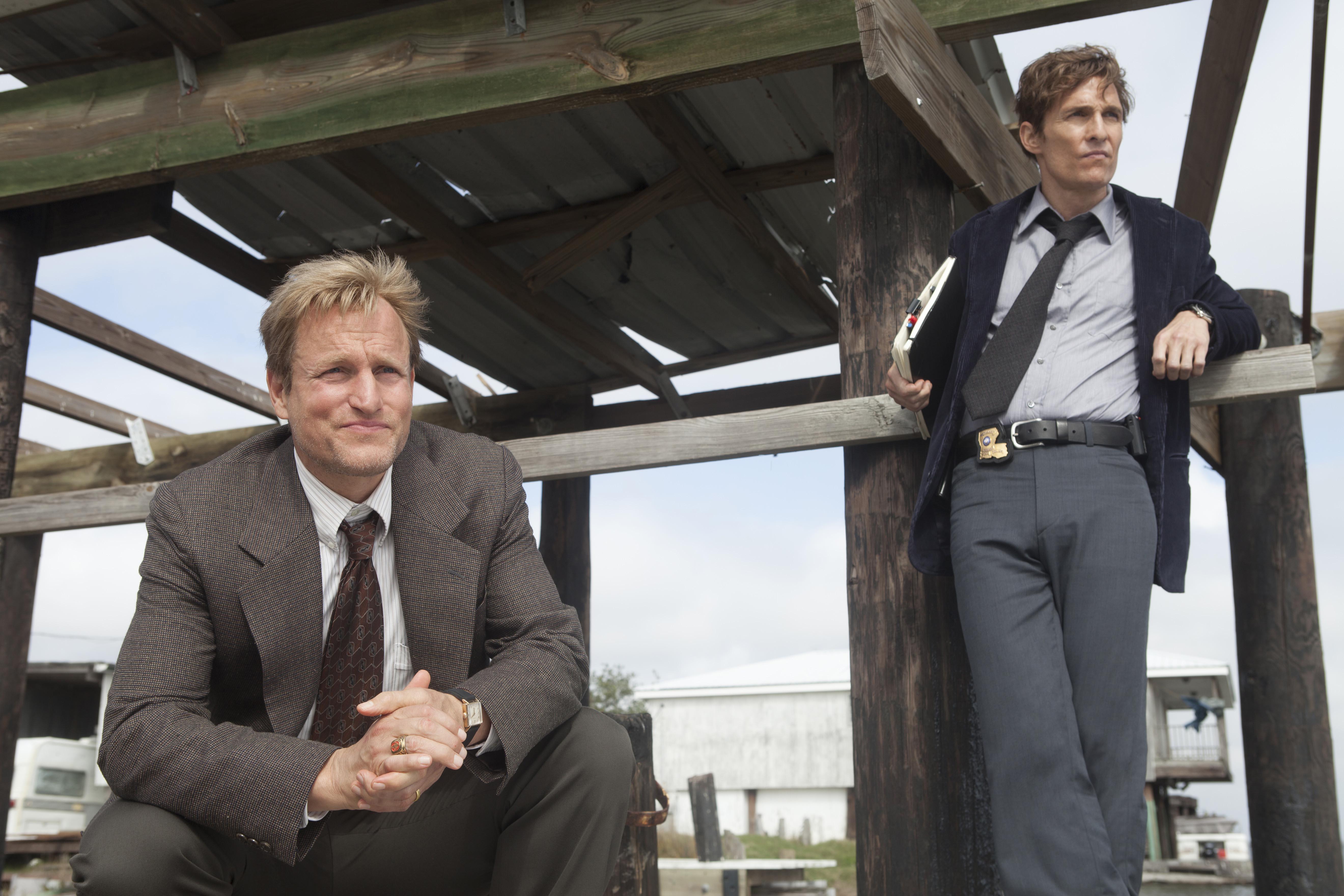 """Woody Harrelson and Matthew McConaughey, """"True Detective"""""""