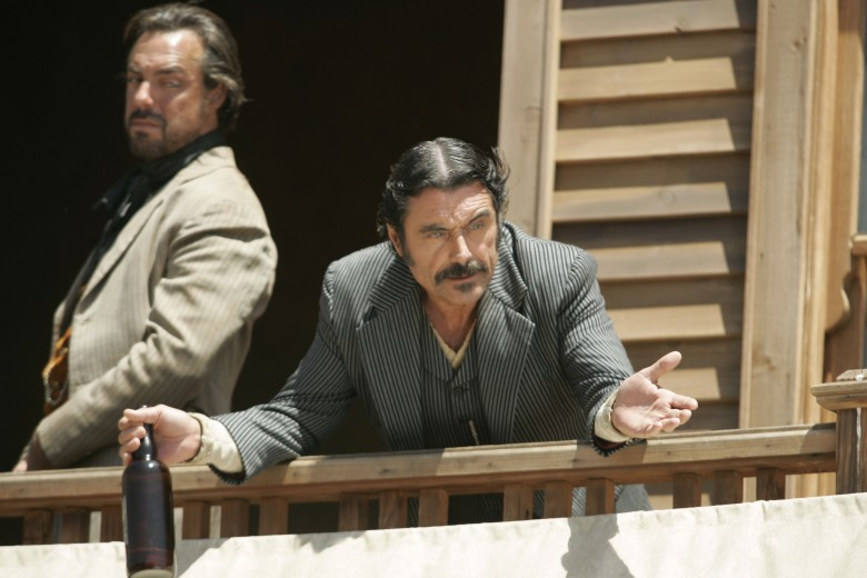 "Titus Welliver and Ian McShane, ""Deadwood"""