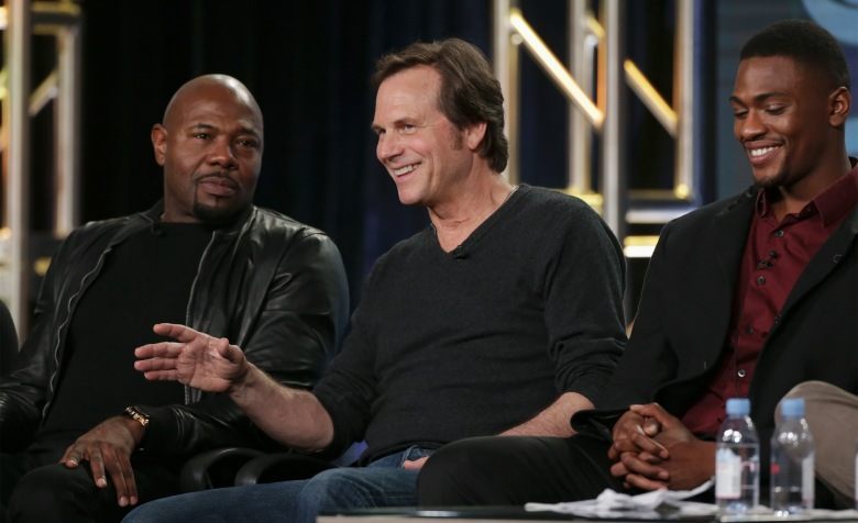 Antoine Fuqua, Bill Paxton and Justin CornwellCBS's 'Training Day' Panel, TCA Winter Press Tour, Day 5, Pasadena, USA - 09 Jan 2017