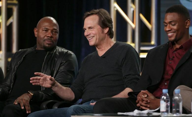 Antoine Fuqua, Bill Paxton and Justin CornwellCBS's 'Training Day' Panel, TCA Winter Press Tour, Day 5, Pasadena, USA - 09 Jan 2017
