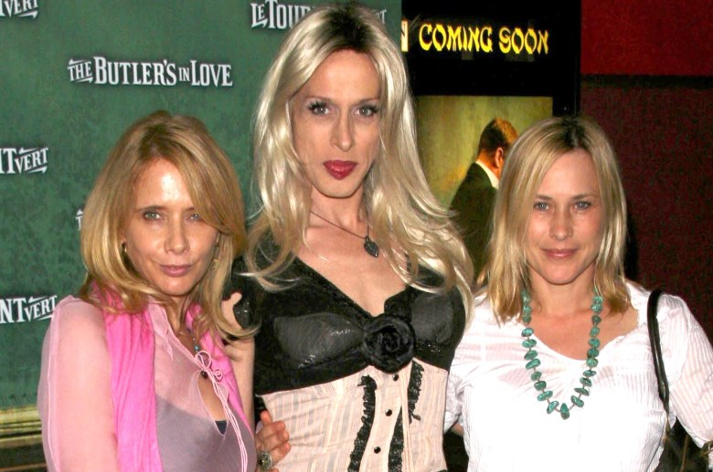 Actresses Rosanna, Alexis and Patricia Arquette