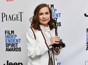 Isabelle Huppert32nd Film Independent Spirit Awards, Press Room, Santa Monica, Los Angeles, USA - 25 Feb 2017