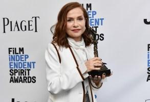 Isabelle Huppert32nd Film Independent Spirit Awards, Press Room, Santa Monica, Los Angeles, USA - 25 Feb 2017