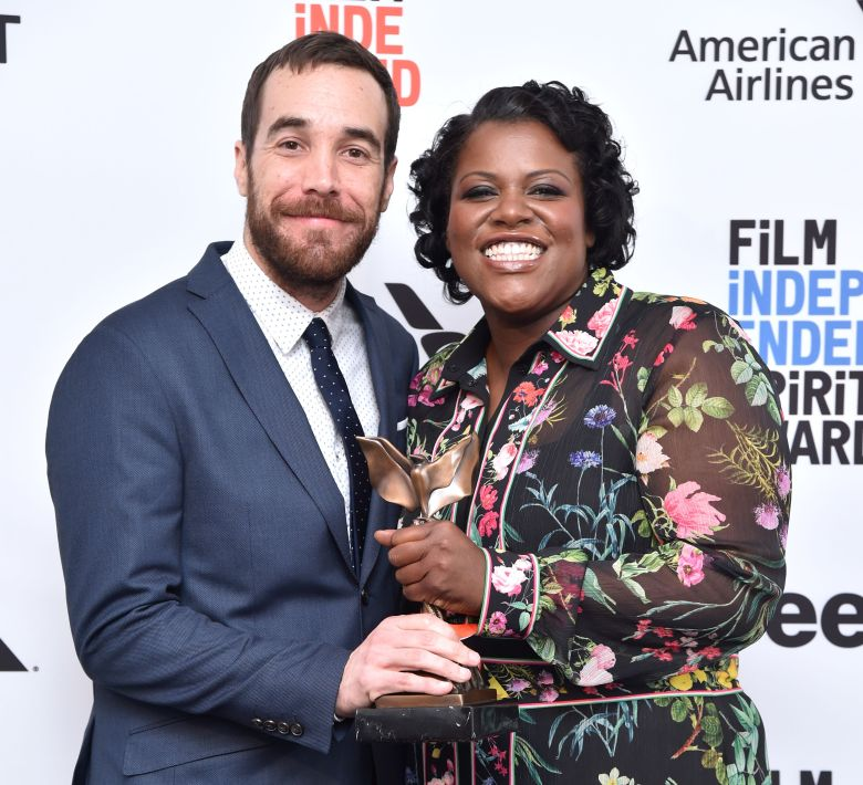 Nat Sanders and Joi McMillon32nd Film Independent Spirit Awards, Press Room, Santa Monica, Los Angeles, USA - 25 Feb 2017