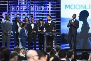 Cast and crew of 'Moonlight'32nd Film Independent Spirit Awards, Show, Santa Monica, Los Angeles, USA - 25 Feb 2017