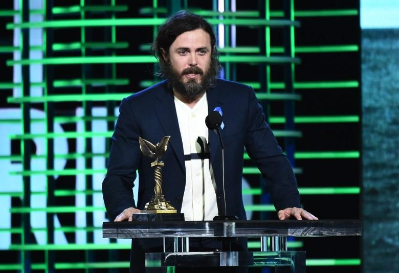Casey Affleck 32nd Film Independent Spirit Awards, Show, Santa Monica, Los Angeles, USA - 25 Feb 2017