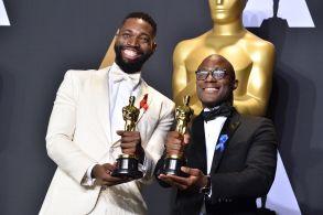 Barry Jenkins and Tarell Alvin McCraney Academy Awards