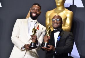 Barry Jenkins and Tarell Alvin McCraney Academy Awards
