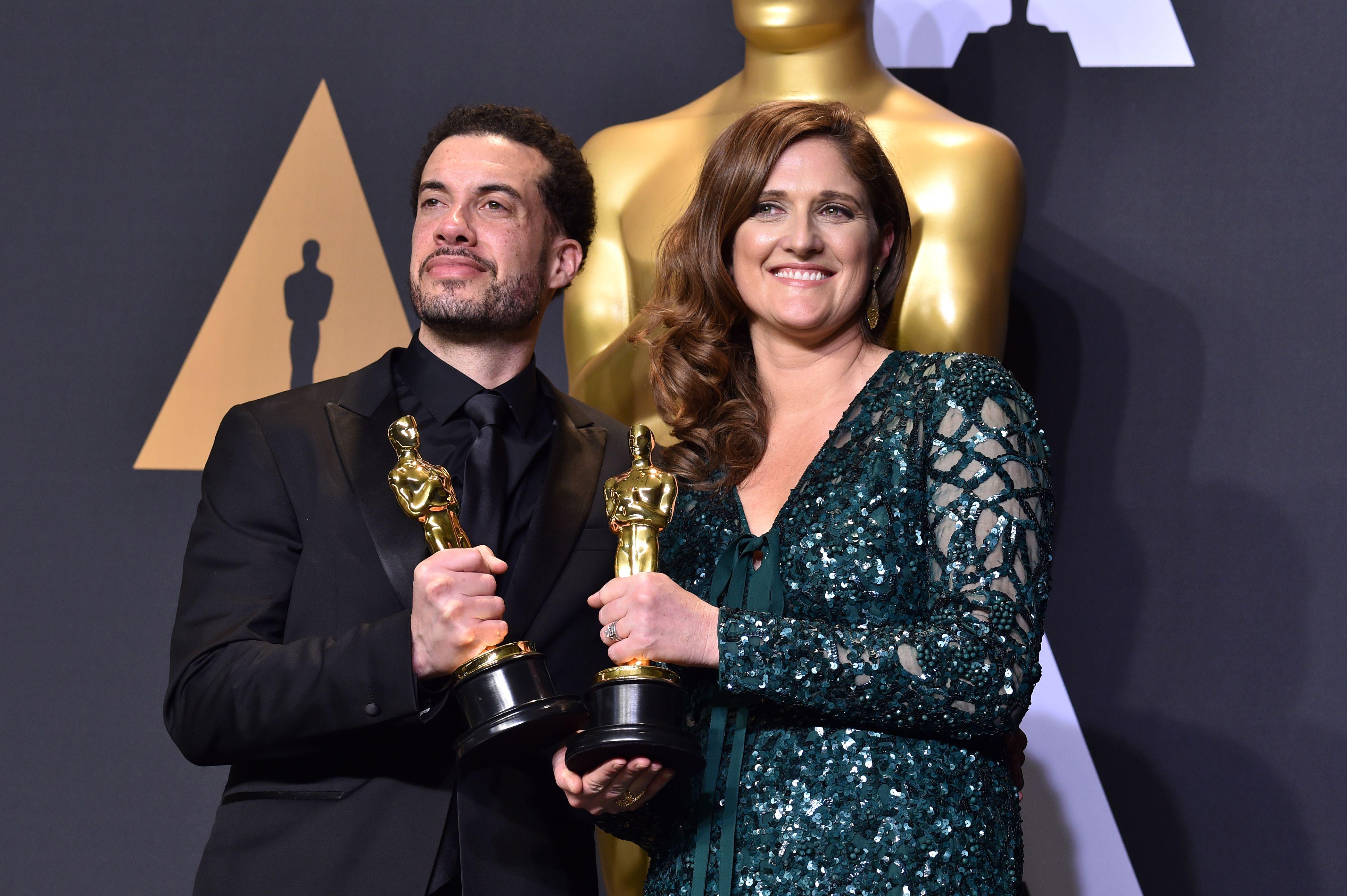 Ezra Edelman and Caroline Waterlow Academy Awards