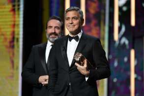 George Clooney receives Honorary Cesar Award42nd Annual Cesar Film Awards, Paris, France - 24 Feb 2017
