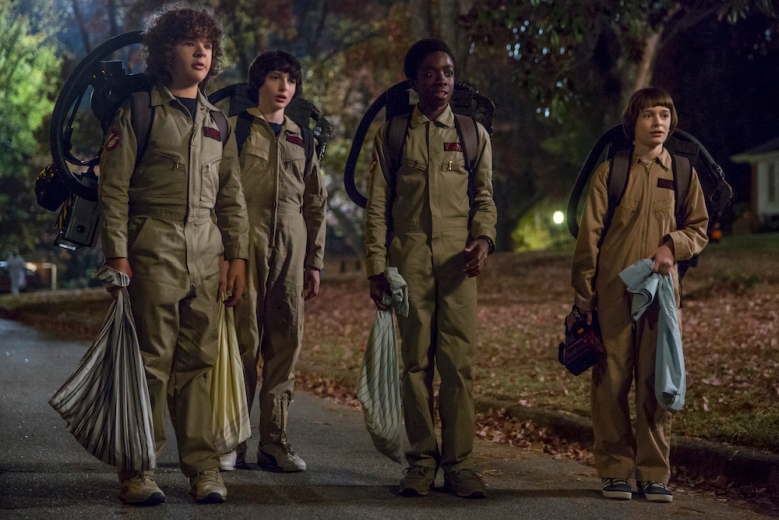 Stranger Things Season 2 Netflix Ghostbusters