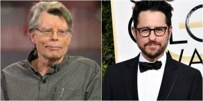 Stephen King and J.J. Abrams