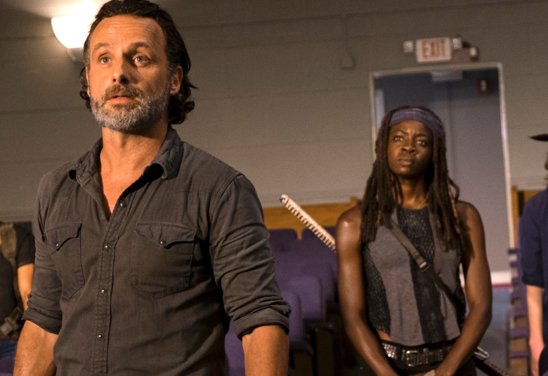 "Andrew Lincoln and Danai Gurira, ""The Walking Dead"""