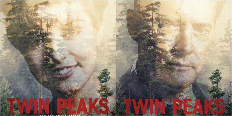 """Twin Peaks"" Laura Palmer and Dale Cooper posters"