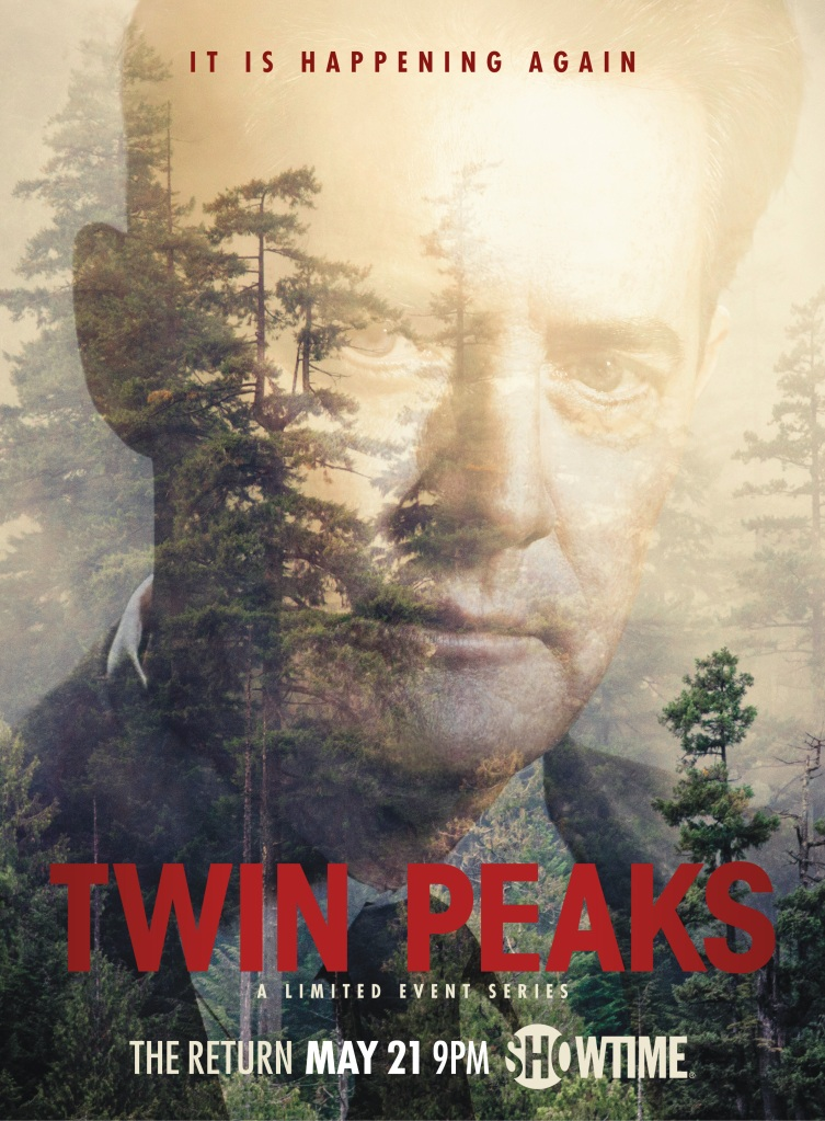 """Twin Peaks"" Dale Cooper poster"