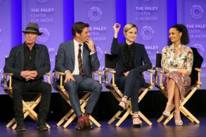Westworld Ed Harris James Marsden Evan Rachel Wood Thandie Newton PaleyFest 2017