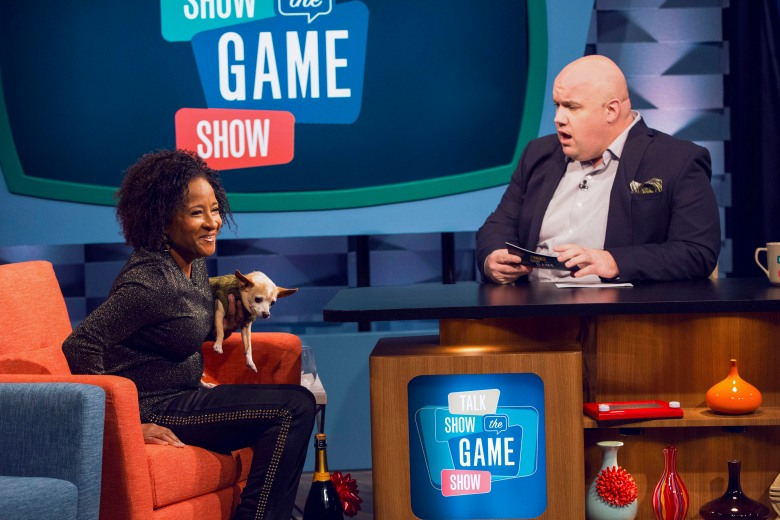 u2018talk show the game show u2019 trailer  celebs score by being