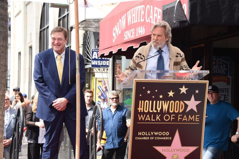 John Goodman and Jeff BridgesJohn Goodman honored with star on The Hollywood Walk of Fame, Los Angeles, USA - 10 Mar 2017