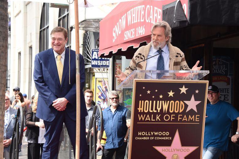 John Goodman and Jeff BridgesJohn Goodman honored with star on The Hollywood Walk of Fame, Los Angeles, USA - 10 Mar 2017