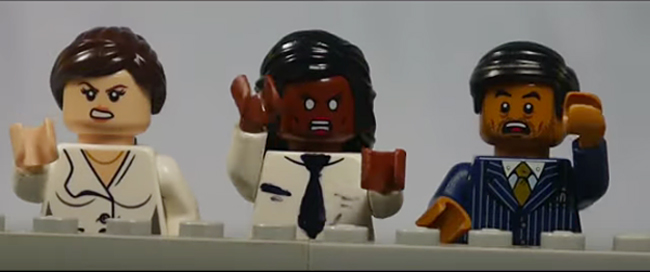 The Belco Experiment LEGO Trailer