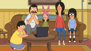 """BOB'S BURGERS: Louise and Gene convince their parents to fund a stop-motion movie in the ÒAquaticism/Ain't Miss Debating'"""" one-hour episode of BOBÕS BURGERS airing Sunday, Mar. 26 (7:30-8:30PM ET/PT) on FOX. BOB'S BURGERS ª and © 2017 TCFFC ALL RIGHTS RESERVED. CR: FOX"""