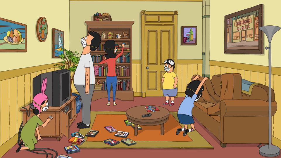 "BOB'S BURGERS: After the Belcher parents have a little too much fun hiding the eggs for the annual Easter egg hunt in the ÒEggs for Days'"" episode of BOBÕS BURGERS airing Sunday, Apr. 2 (7:30-8:00PM ET/PT) on FOX. BOB'S BURGERS ª and © 2017 TCFFC ALL RIGHTS RESERVED. CR: FOX"