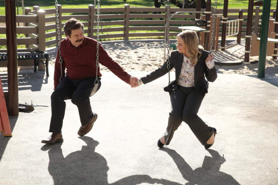Parks and Recreation Nick Offerman Amy Poehler