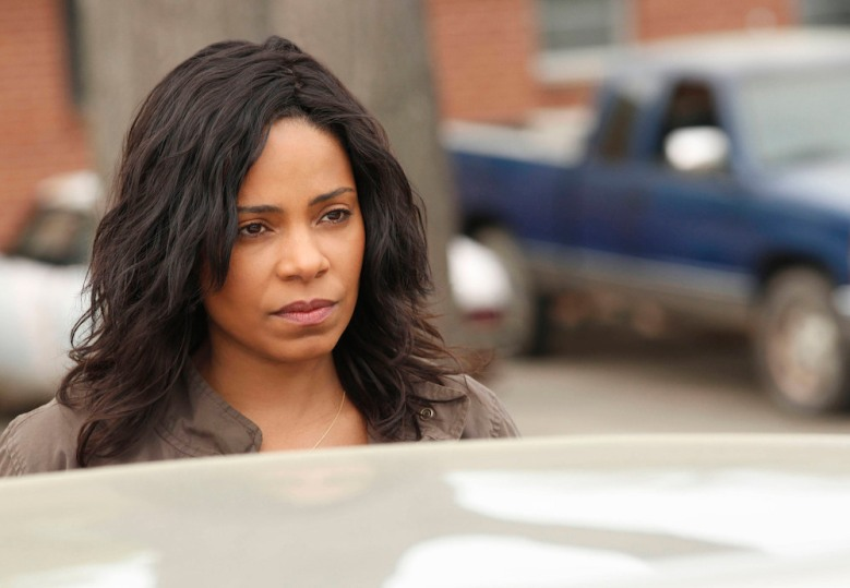 "SHOTS FIRED: Sanaa Lathan in the ""Pilot"" premiere episode of SHOTS FIRED airing Wednesday, March 22 (8:00-9:00 PM ET/PT) on FOX. ©2017 Fox Broadcasting Co. CR: Fred Norris/FOX"