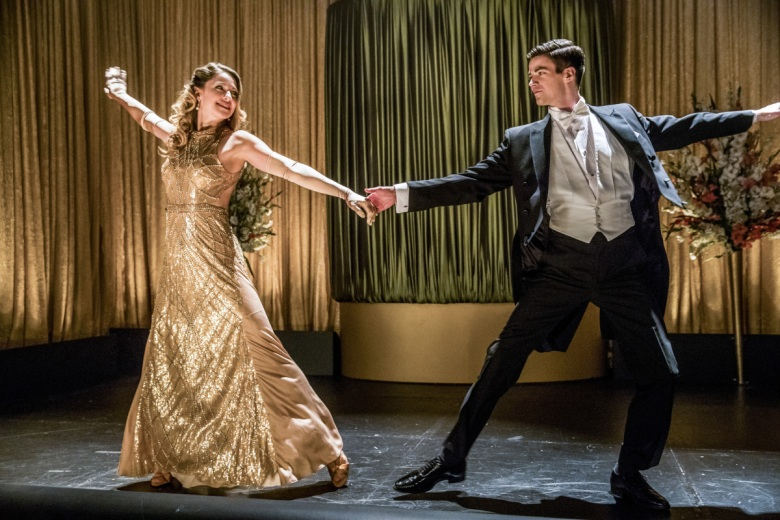 "Melissa Benoist and Grant Gustin, ""The Flash"""