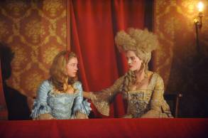 """HARLOTS -- """"Episode 1"""" Episode 101 - Margaret Wells' business comes under attack from a rival madam. As they risk losing everything, how much will Margaret and her daughters have to sacrifice to keep the brothel, and the Wells family afloat? Lucy Wells (Eloise Smyth) and Charlotte Wells (Jessica Brown-Findlay), shown. (Photo by: Liam Daniel/Hulu)"""