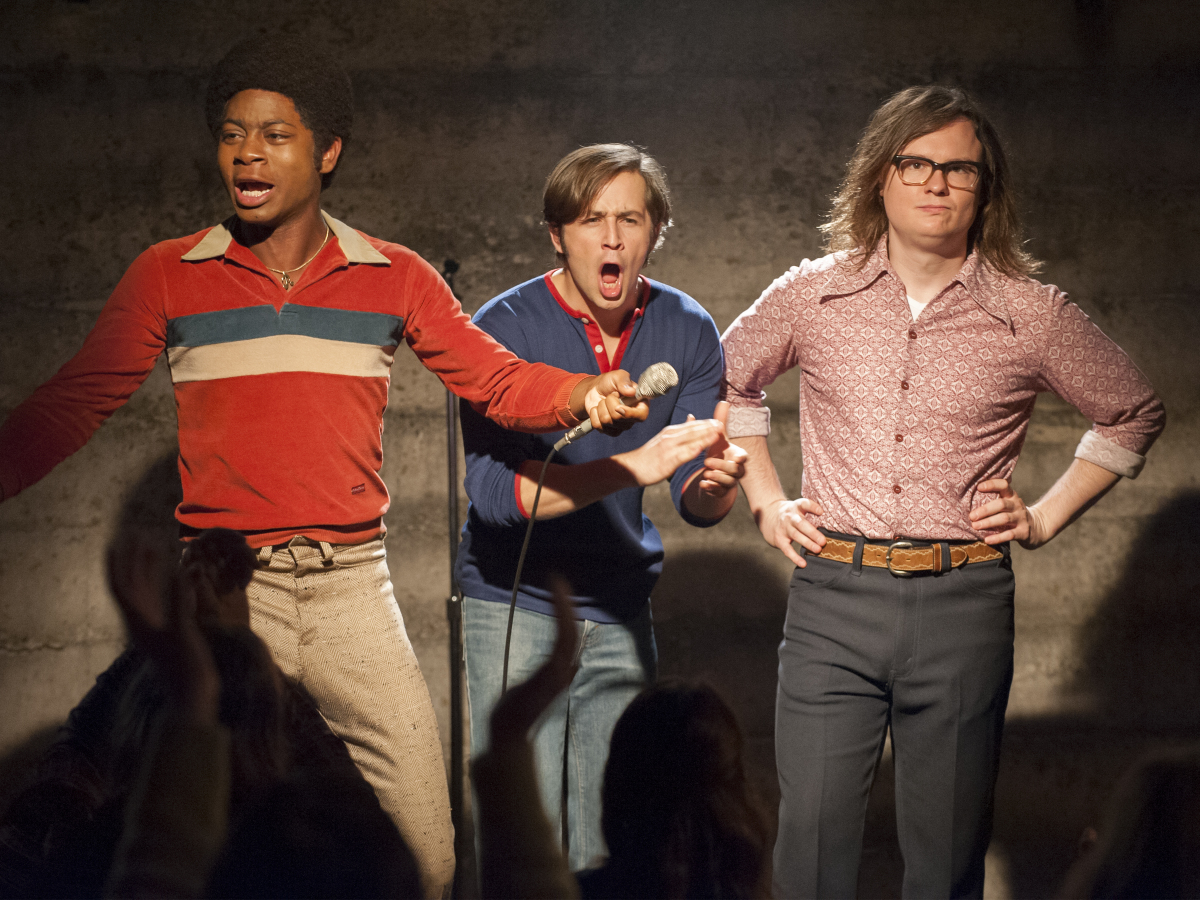 I'm Dying Up Here Showtime RJ Cyler Michael Angarano Clark Duke