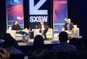 "Richard Linklater, Michael Fassbender & Terrence Malick discuss ""Song to Song"" at SXSW 2017"