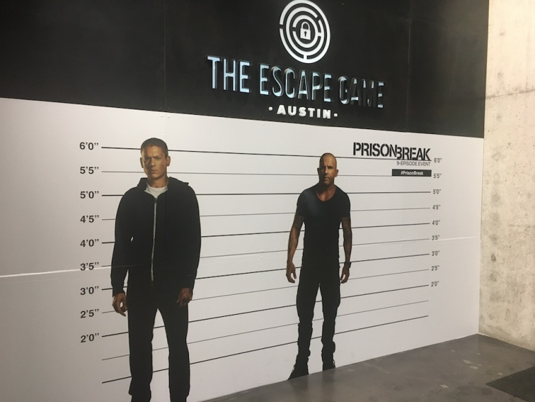 Prison Break SXSW Escape Room 2017