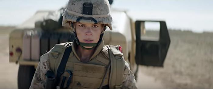 Kate Mara in 'Megan Leavey'